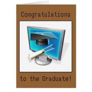 Cartão Graduação - IT/Computer