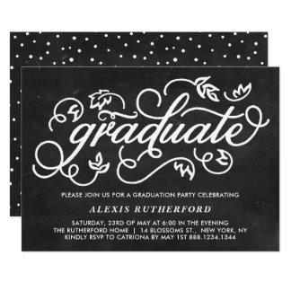 Cartão Graduação lunática branca do quadro do falso do