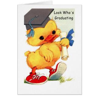 Cartão graduado