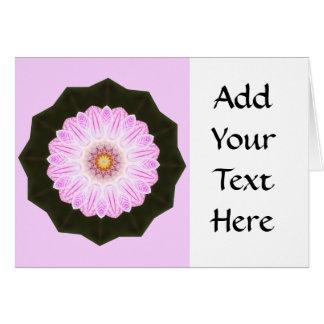 Cartão Gráfico cor-de-rosa da arte abstracta do