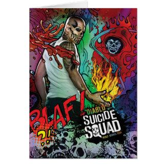 Cartão Grafites do caráter do pelotão | Diablo do
