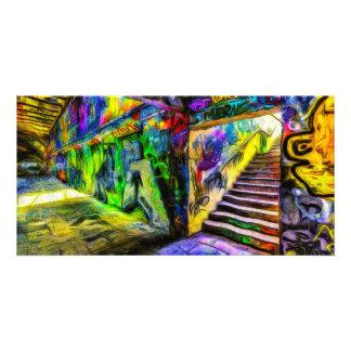 Cartão Grafites Van Gogh de Londres