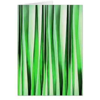 Cartão Grama verde de sussurro