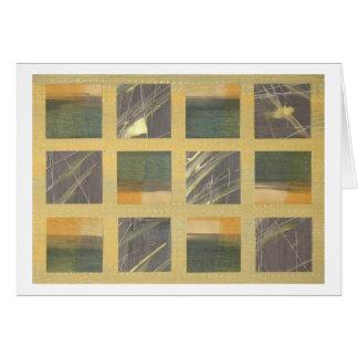 Cartão Gramas do mar