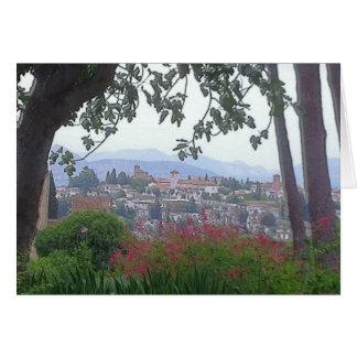 Cartão Granada, espanha