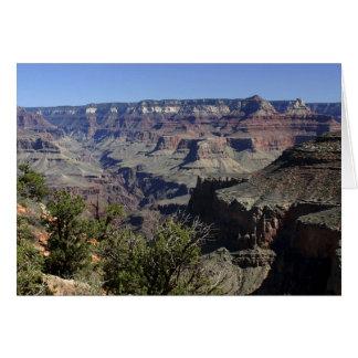 Cartão Grand Canyon da borda norte