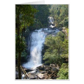 Cartão Grande cachoeira