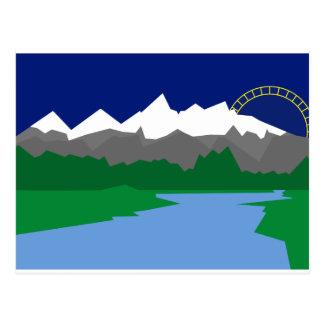Cartão grande de Teton
