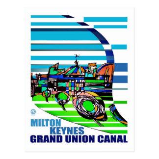 Cartão grande do MK do canal da união