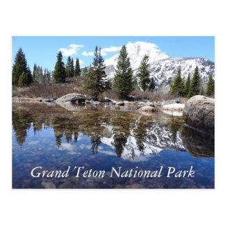 Cartão grande do parque nacional de Teton