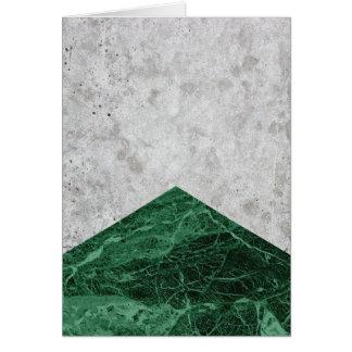 Cartão Granito concreto #412 do verde da seta