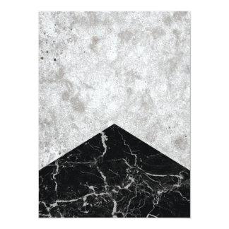 Cartão Granito concreto #844 do preto da seta
