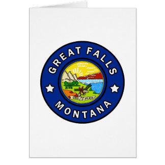 Cartão Great Falls Montana