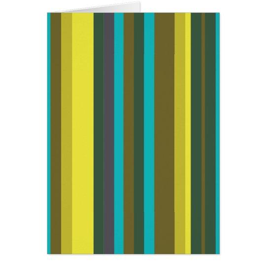 Cartão Green_stripes
