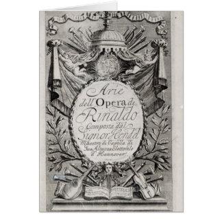 Cartão Griffon de Rene Robert Cavelier de la Salle