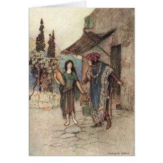 Cartão Griselda e o duque,