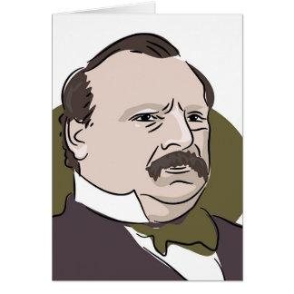 Cartão Grover Cleveland