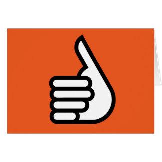 Cartão Grtz.net: Mãos acima, super!