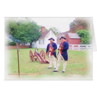 Cartão Grupo colonial de Canon
