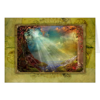 Cartão Gruta Enchanting