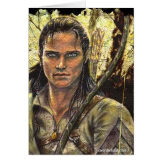 Cartão Guarda florestal de Elven