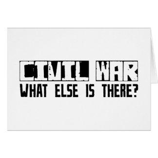 Cartão Guerra civil que outro está lá?