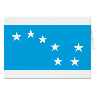 Cartão Guilhotina estrelado - bandeira comunista