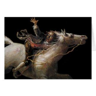 Cartão Guindaste de Ichabod da cavidade sonolento