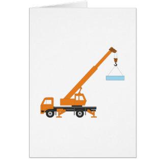 Cartão Guindaste de levantamento industrial