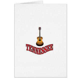 Cartão Guitarra de Tennessee