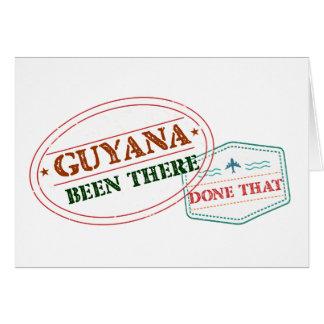 Cartão Guyana feito lá isso