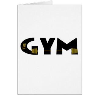 Cartão Gym e malhação