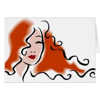 Cartão Hairstylist - cabeleireiro