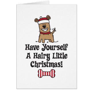 Cartão HairyChristmas