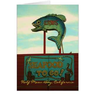 Cartão Half Moon Bay
