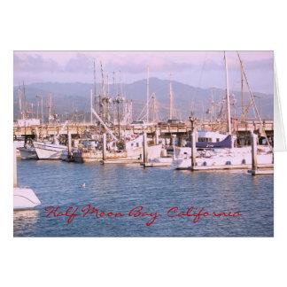 Cartão Half Moon Bay, Califórnia