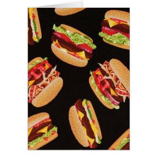 Cartão Hamburger