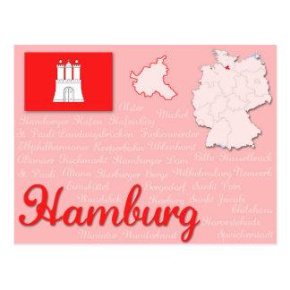 """Cartão """"Hamburgo """""""