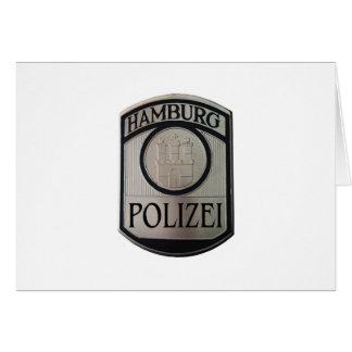 Cartão Hamburgo Polizei