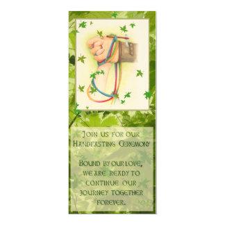 Cartão Handfasting junta-se nos
