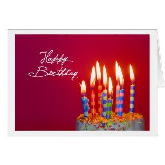 Cartão Happy Birthday Card