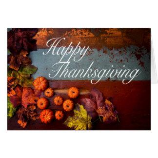 Cartão 'Happy Thanksgiving'