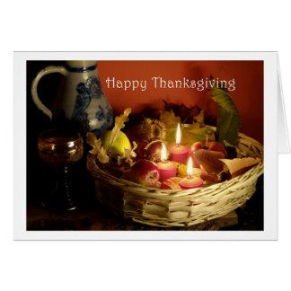 Cartão Happy Thanksgiving Card