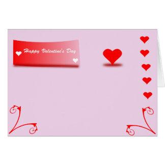 Cartão - Happy Valentin's Day