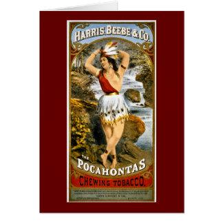 Cartão Harris, Beebe, & Co. - tabaco de mastigação de