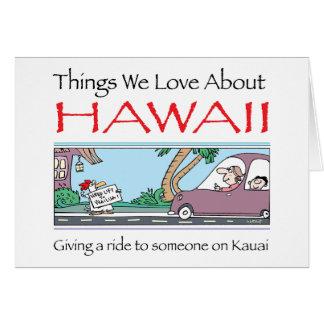 Cartão Havaí por Harrop-T-a