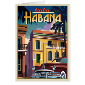 Cartão Havana Cuba