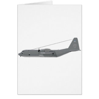 Cartão HC-130P Hercules SAR