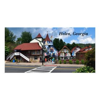 Cartão Helen, Geórgia, EUA