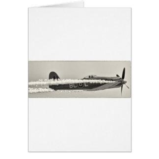 Cartão Hellcat de Grumman F6F